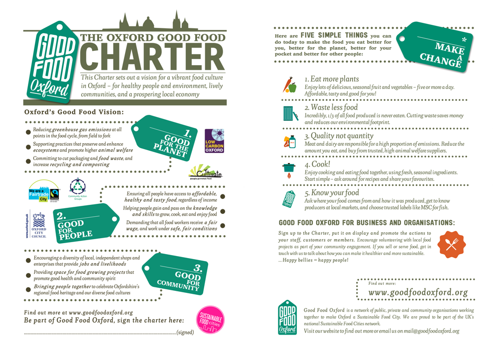 Oxford Good Food Charter IMG