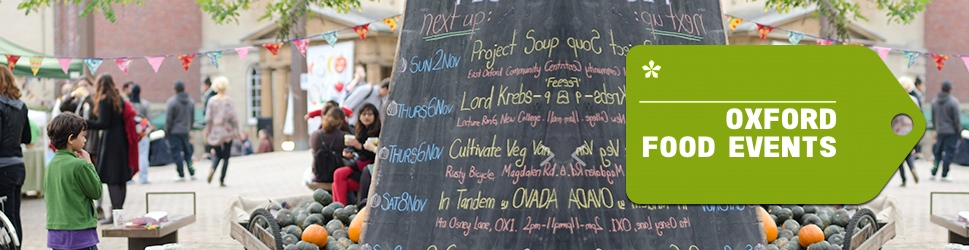 Oxford food events